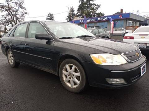 2002 Toyota Avalon for sale at All American Motors in Tacoma WA