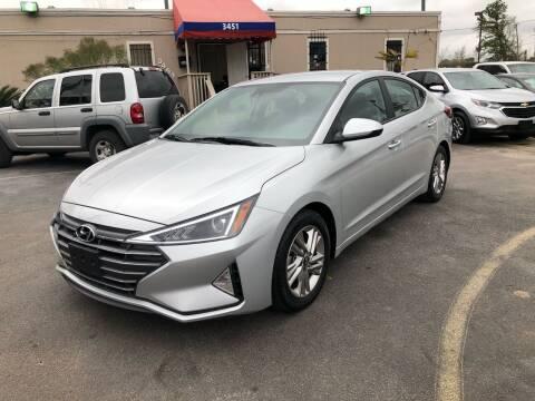 2019 Hyundai Elantra for sale at Saipan Auto Sales in Houston TX