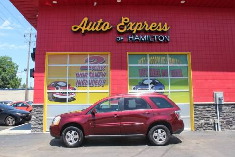 2008 Chevrolet Equinox for sale at AUTO EXPRESS OF HAMILTON LLC in Hamilton OH