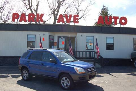 2005 Kia Sportage for sale at Park Ave Auto Inc. in Worcester MA