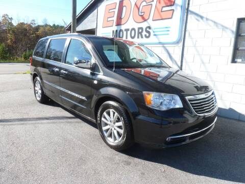 2014 Chrysler Town and Country for sale at Edge Motors in Mooresville NC