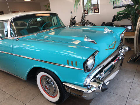 1957 Chevrolet Bel Air for sale at Classic Connections in Greenville NC