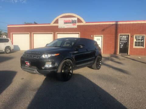 2013 Land Rover Range Rover Evoque for sale at Family Auto Finance OKC LLC in Oklahoma City OK
