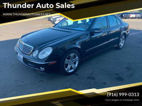 2004 Mercedes-Benz E-Class for sale at Thunder Auto Sales in Sacramento CA