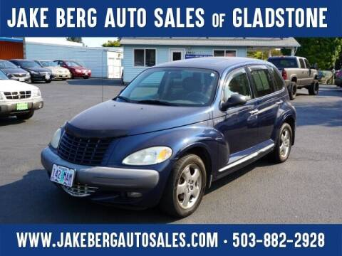 2002 Chrysler PT Cruiser for sale at Jake Berg Auto Sales in Gladstone OR
