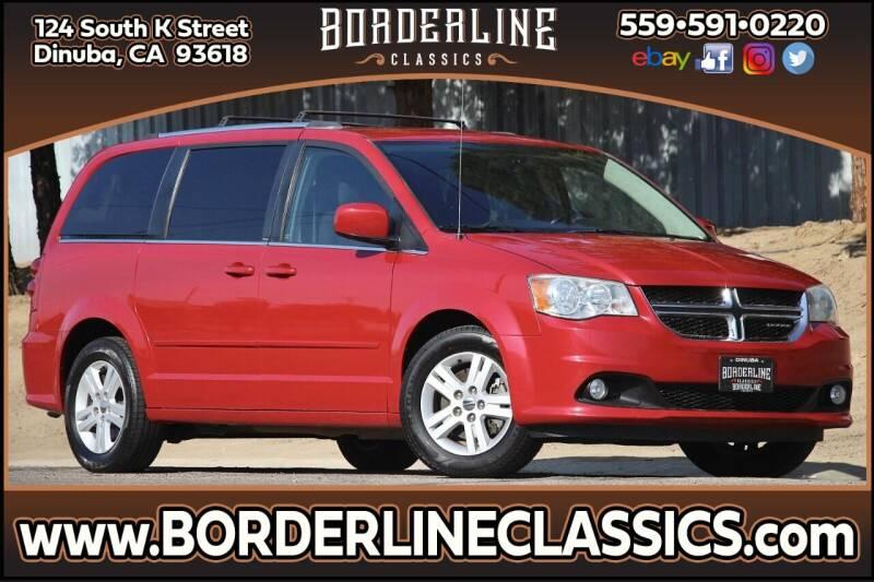 2012 Dodge Grand Caravan for sale at Borderline Classics in Dinuba CA