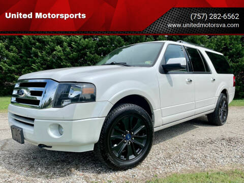 2012 Ford Expedition EL for sale at United Motorsports in Virginia Beach VA
