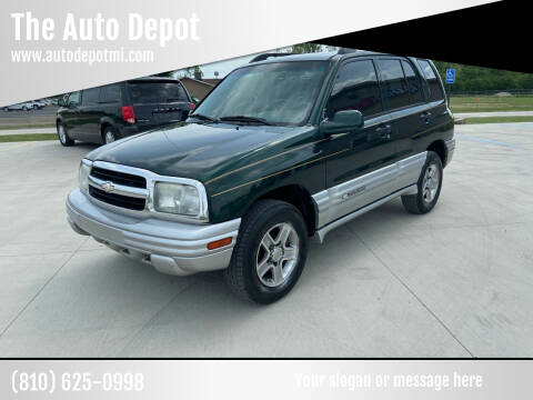 2002 Chevrolet Tracker for sale at The Auto Depot in Mount Morris MI