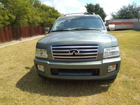 2005 Infiniti QX56 for sale at El Jasho Motors in Grand Prairie TX