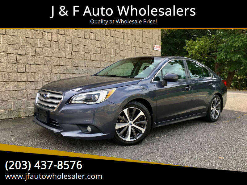 2015 Subaru Legacy for sale at J & F Auto Wholesalers in Waterbury CT