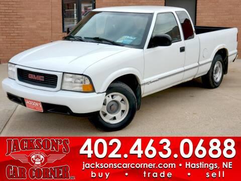 1999 GMC Sonoma for sale at Jacksons Car Corner Inc in Hastings NE