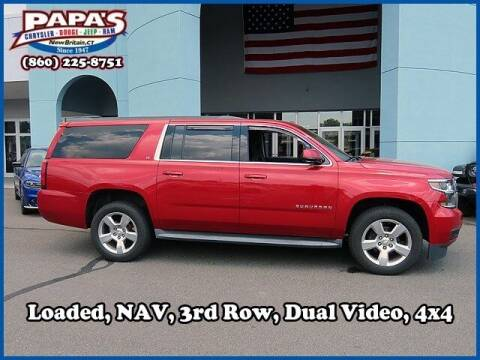 2015 Chevrolet Suburban for sale at Papas Chrysler Dodge Jeep Ram in New Britain CT