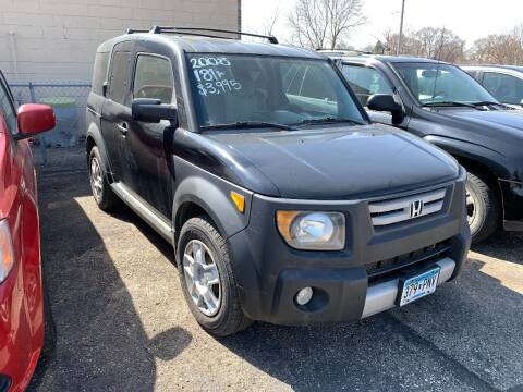 2008 Honda Element for sale at BEAR CREEK AUTO SALES in Rochester MN