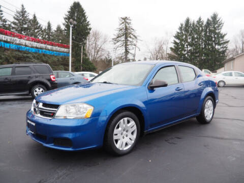 2013 Dodge Avenger for sale at Patriot Motors in Cortland OH
