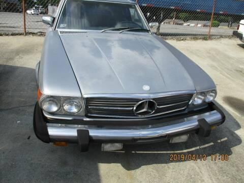 1983 Mercedes-Benz 380-Class for sale at Atlantic Motors in Chamblee GA