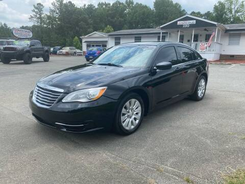 2014 Chrysler 200 for sale at CVC AUTO SALES in Durham NC
