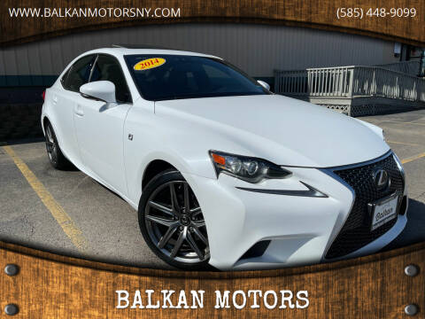 2014 Lexus IS 250 for sale at BALKAN MOTORS in East Rochester NY