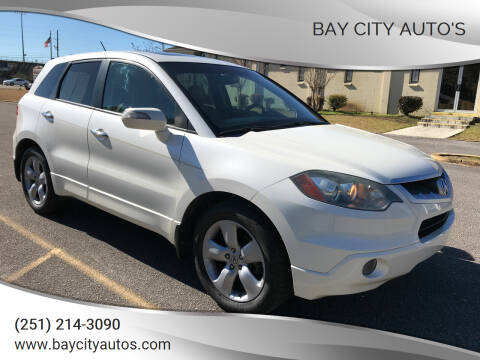 2009 Acura RDX for sale at Bay City Auto's in Mobile AL