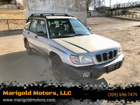 2001 Subaru Forester for sale at Marigold Motors, LLC in Pekin IL