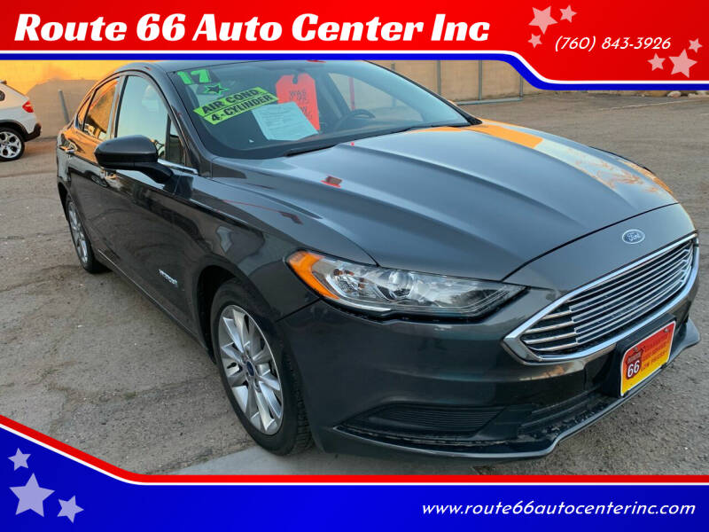 2017 Ford Fusion Hybrid for sale in Victorville, CA