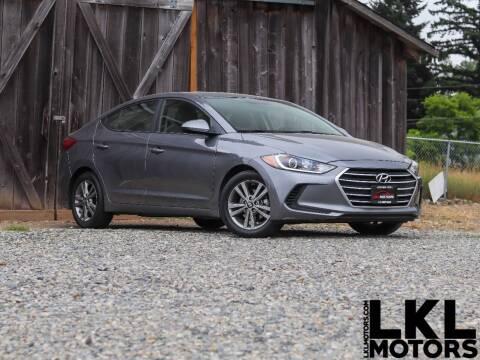 2018 Hyundai Elantra for sale at LKL Motors in Puyallup WA