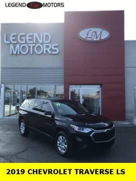 2019 Chevrolet Traverse for sale at Legend Motors of Ferndale in Ferndale MI