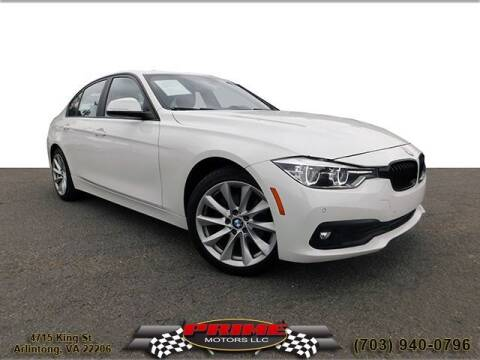 2017 BMW 3 Series for sale at PRIME MOTORS LLC in Arlington VA