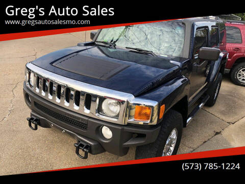 2007 HUMMER H3 for sale at Greg's Auto Sales in Poplar Bluff MO