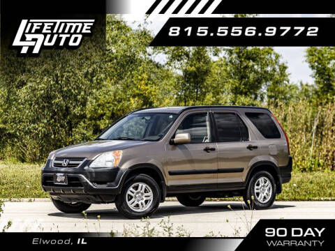 2002 Honda CR-V for sale at Lifetime Auto in Elwood IL