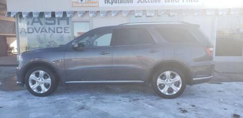 2014 Dodge Durango for sale at HomeTown Motors in Gillette WY