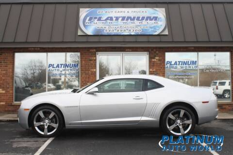 2010 Chevrolet Camaro for sale at Platinum Auto World in Fredericksburg VA