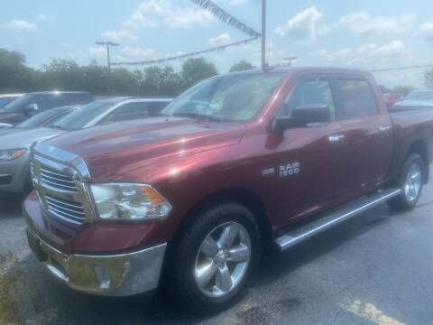 2018 RAM Ram Pickup 1500 for sale at EAGLE ONE AUTO SALES in Leesburg OH