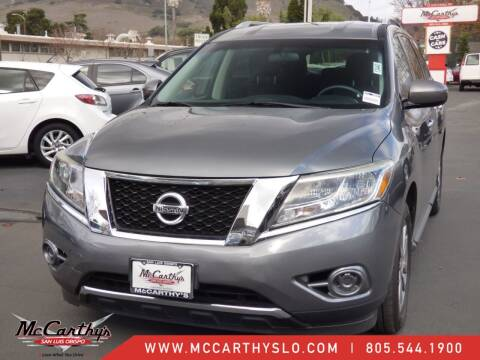 2015 Nissan Pathfinder for sale at McCarthy Wholesale in San Luis Obispo CA