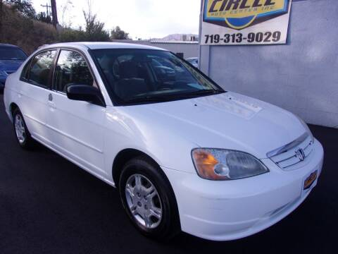 2002 Honda Civic for sale at Circle Auto Center in Colorado Springs CO