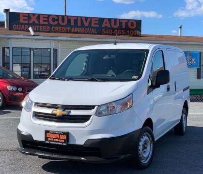 2017 Chevrolet City Express Cargo for sale at Executive Auto in Winchester VA