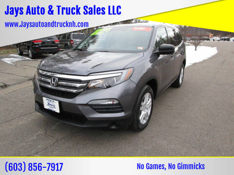 2016 Honda Pilot for sale at Jays Auto & Truck Sales LLC in Loudon NH