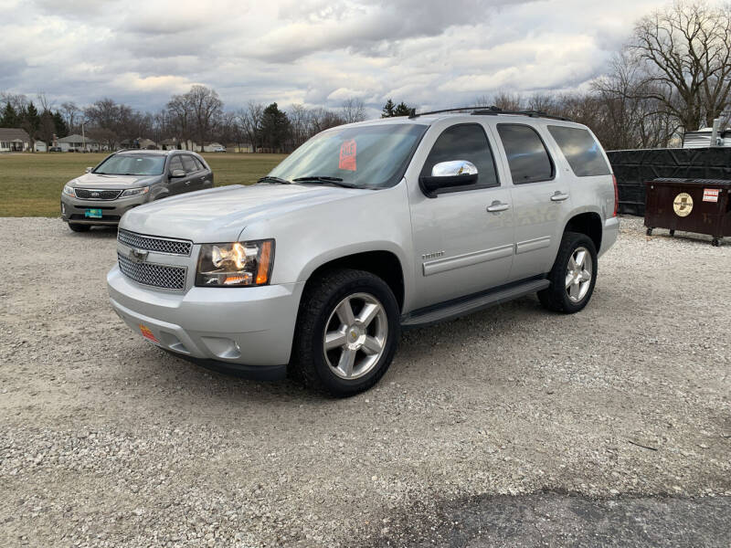 2012 Chevrolet Tahoe for sale at Ultimate Auto Sales in Crown Point IN