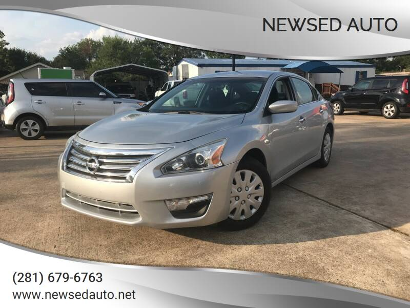 2014 Nissan Altima for sale at Newsed Auto in Houston TX