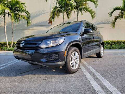 2017 Volkswagen Tiguan for sale at Keen Auto Mall in Pompano Beach FL