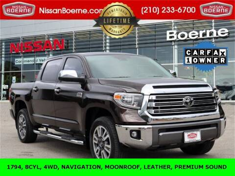 2020 Toyota Tundra for sale at Nissan of Boerne in Boerne TX