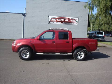 2001 Nissan Frontier for sale at Motion Autos in Longview WA