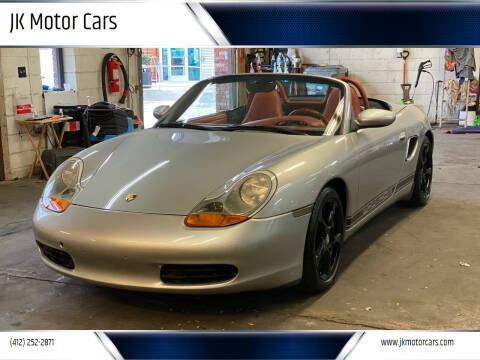 2000 Porsche Boxster for sale at JK Motor Cars in Pittsburgh PA