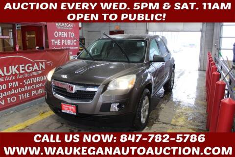 2008 Saturn Outlook for sale at Waukegan Auto Auction in Waukegan IL