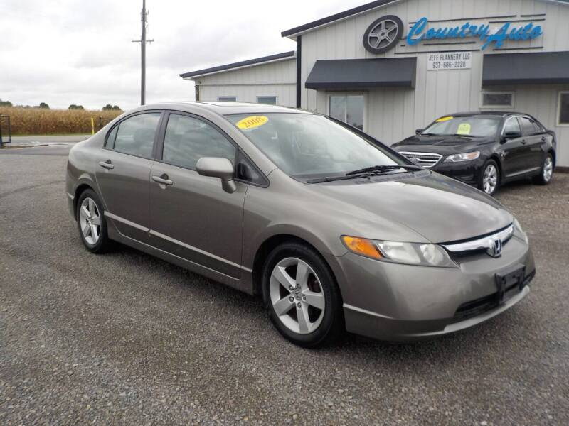 2008 Honda Civic for sale at Country Auto in Huntsville OH