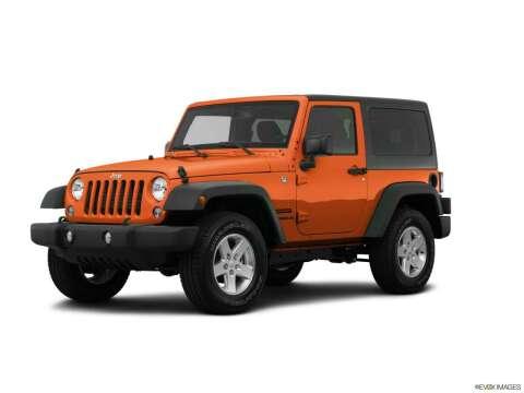 2015 Jeep Wrangler for sale at Bald Hill Kia in Warwick RI