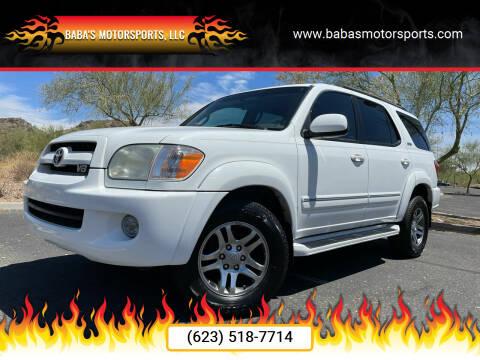 2007 Toyota Sequoia for sale at Baba's Motorsports, LLC in Phoenix AZ