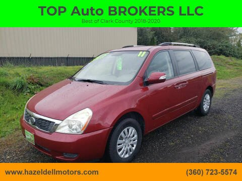 2011 Kia Sedona for sale at TOP Auto BROKERS LLC in Vancouver WA