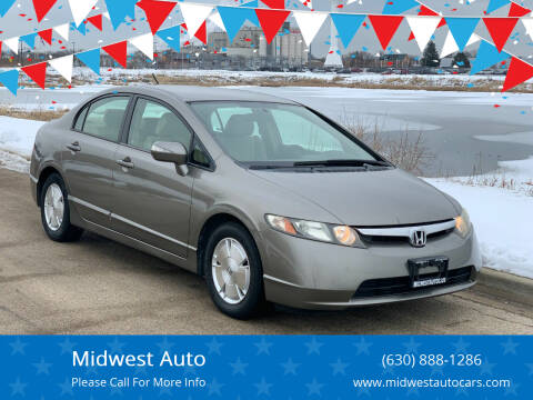 2006 Honda Civic for sale at Midwest Auto in Naperville IL