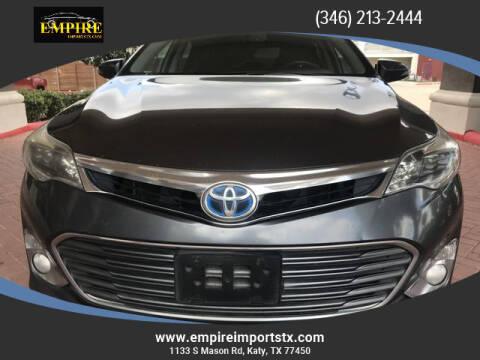 2013 Toyota Avalon Hybrid for sale at EMPIREIMPORTSTX.COM in Katy TX