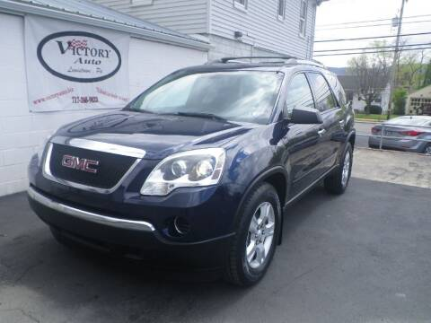 2011 GMC Acadia for sale at VICTORY AUTO in Lewistown PA